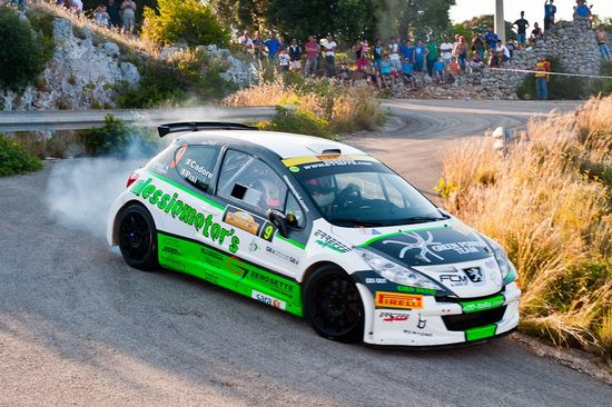 Rally del Salento Al via la prima tappa