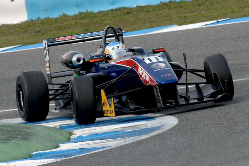 Ed Jones (Team West-Tec)  vince il Winter Series dell'European F3 Open