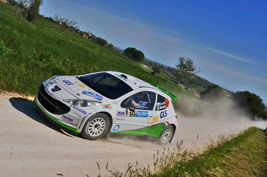Power car team al 24°Rally Puglia e Lucania di Melfi