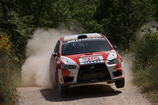 Massimiliano Rendina al Rally di Pico con Rally Project