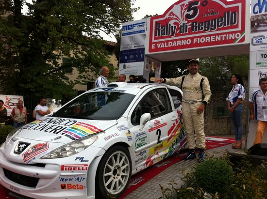 PA Racing prima assoluta al Rally di Reggello