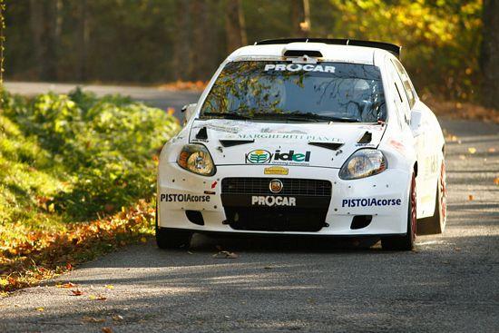Pierre campana al rally di sanremo con power car team for Giannini arredamenti anagni