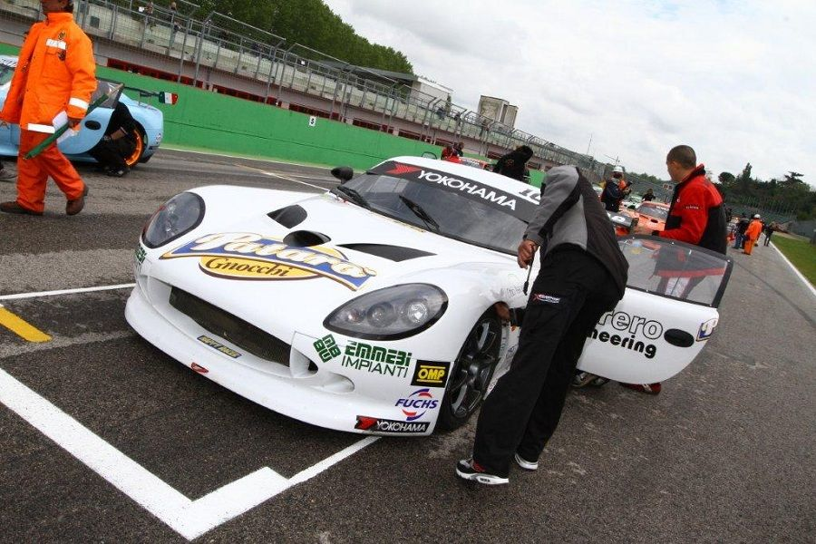 Ginetta G50 Cup  Happy Racer  Patar� con Mark Speakerwas a Monza