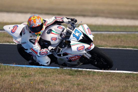 Campionato del Mondo Supersport  Imola Team Pata by Martini, Dino Lombardi