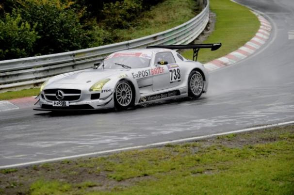 G Private Racing nel Dunlop Endurance Champions Cup con una Mercedes SLS