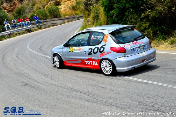 SGB Rallye bottino pieno al Rally Event Taormina