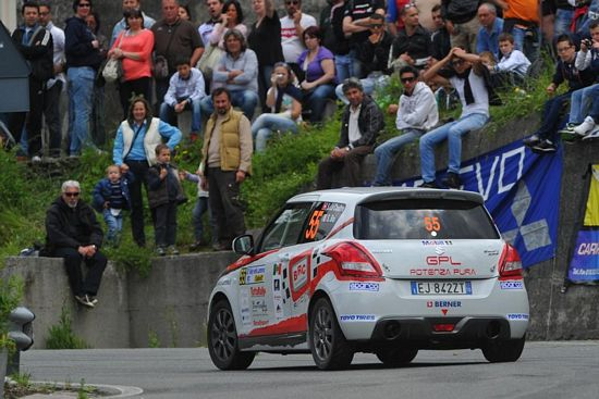 BRC RACING TEAM  al Rally del Salento con la Suzuki Swift alimentata a GPL