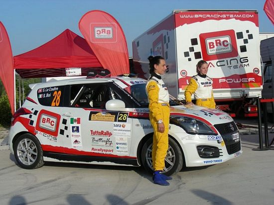 Brc Racing Team e Butterfly Motorsport al Rally del Salento