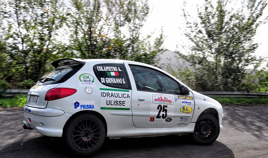 Simone Di Giovanni nella top ten al Junior Rally Show