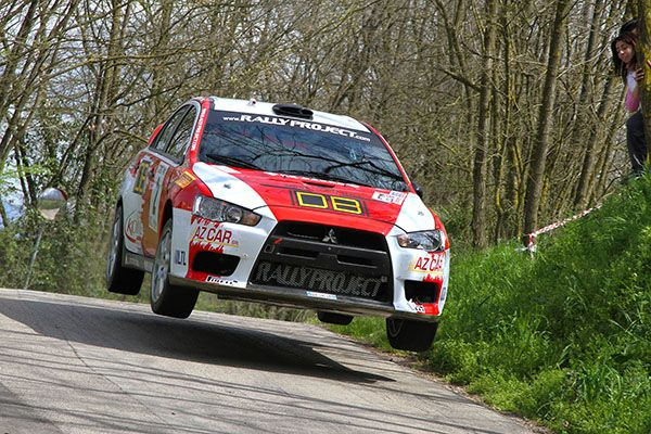 "RALLY PROJECT E FRANCO LAGANA' IN CERCA DEL BIS  AL RALLY ""5 COMUNI"""