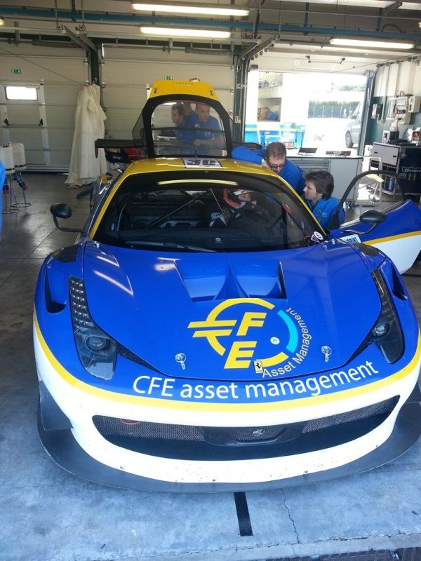 Stefano Costantini in GT Open su Ferrari 458 del Team Ombra Racing