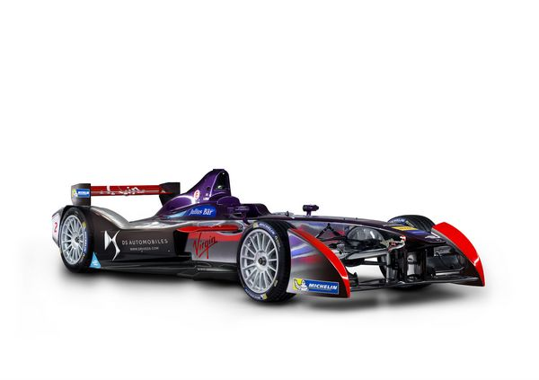 Formula E DS Virgin Racing pronta per l'Uruguay