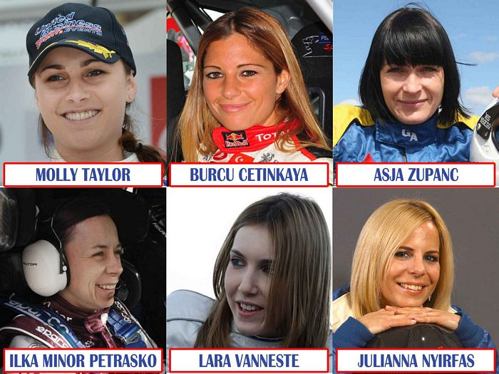 DONNE & RALLY – RANKING MONDIALE RALLY FEMMINILE 2013