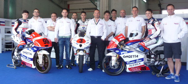 Moto3 Team MT Racing Honda