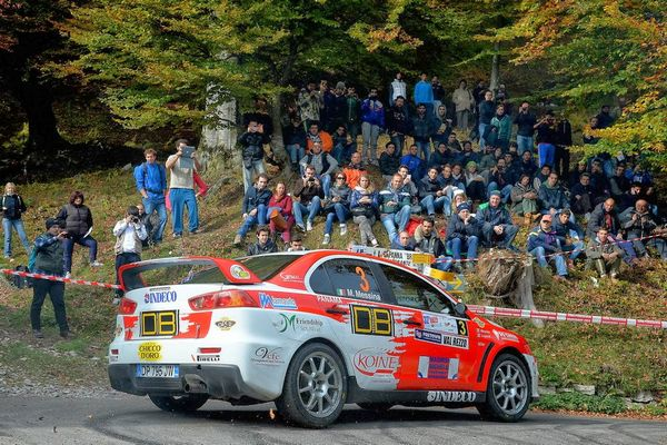 RALLY PROJECT CON LAGANA'   A CASARANO IN CERCA DI PODIO