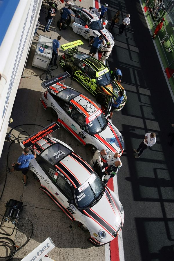 Antonelli Motorsport, Ebimotors, Heaven e il Team Bonaldi in GT CUP