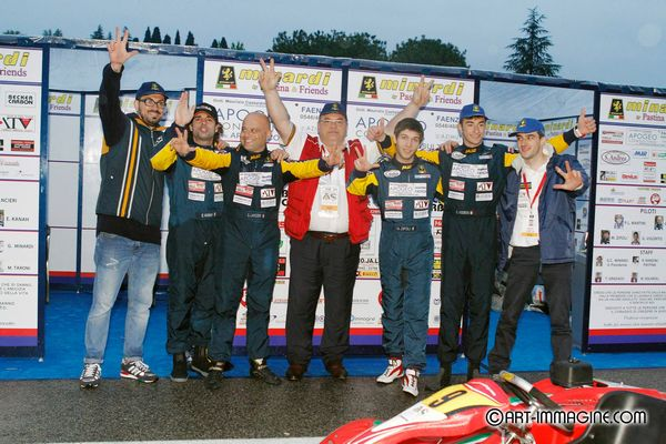 Minardi by Pastina&Friends alla Kart Memorial Senna 2014