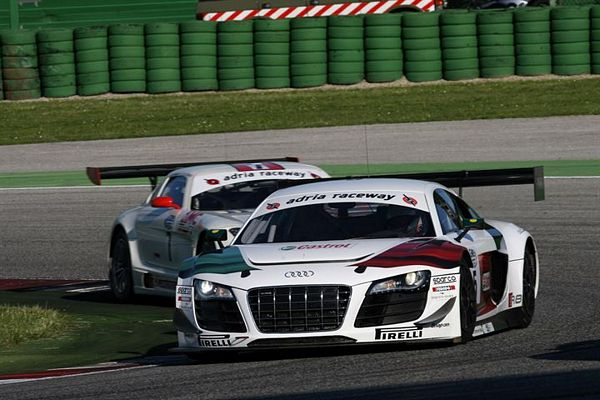 Qualifiche Gran Turismo Pole di  Mapelli e Pier Guidi