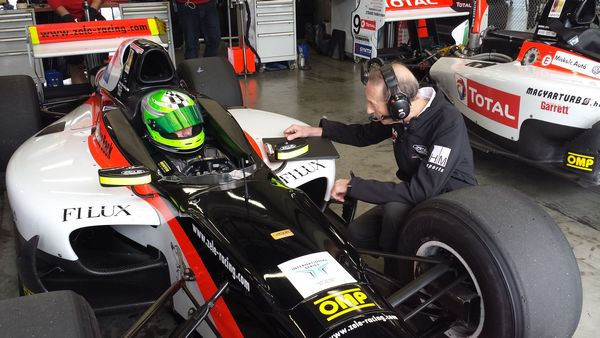 Christof von Grunigen in Auto GP a Monza con Zele Racing
