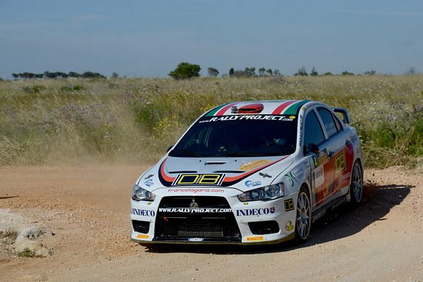 RALLY PROJECT E FRANCO LAGANA' AL RALLY DELLA MARCA