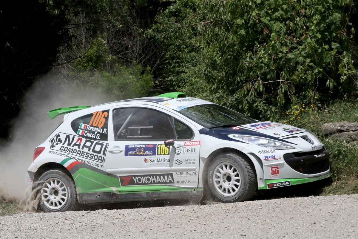 Power car team in Sardegna con due punte di diamante: Travaglia e Trentin