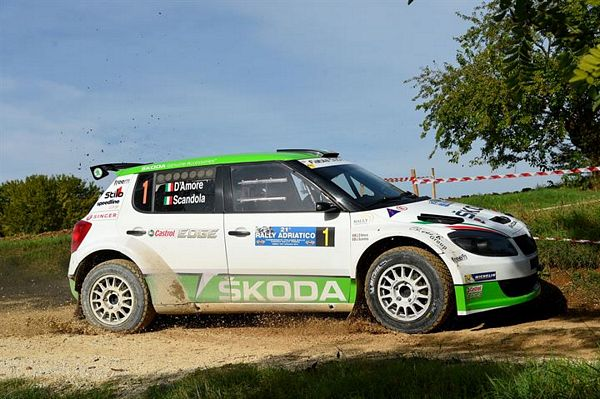 SKODA Italia Motorsport si prepara al 32° Rally Due Valli