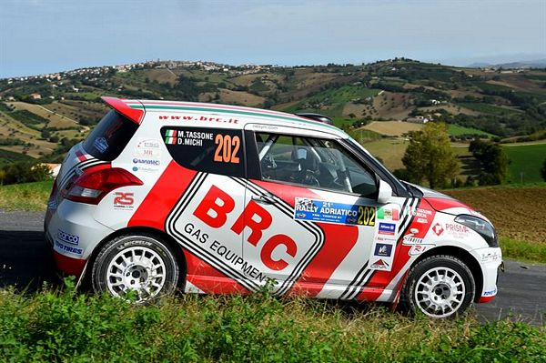BRC Junior Team e Butterfly Motorsport vincono con Tassone il Suzuki Rally Trophy al 21 Rally Adriatico