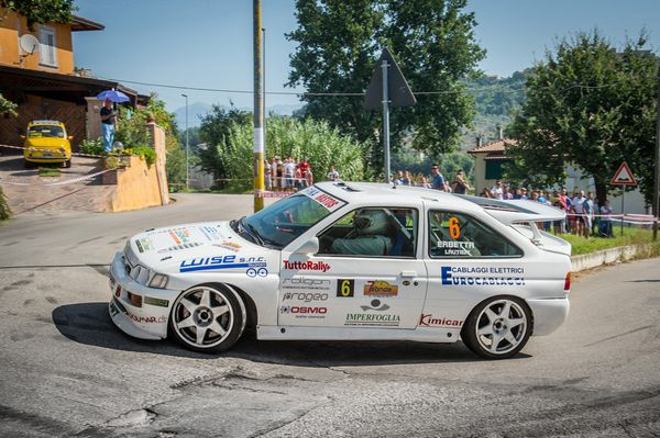 Erbetta Ford Escort RS Cosworth ronde di Sperlonga