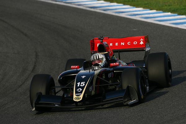 Alex Fontana vola nei test World Series by Renault a Jerez