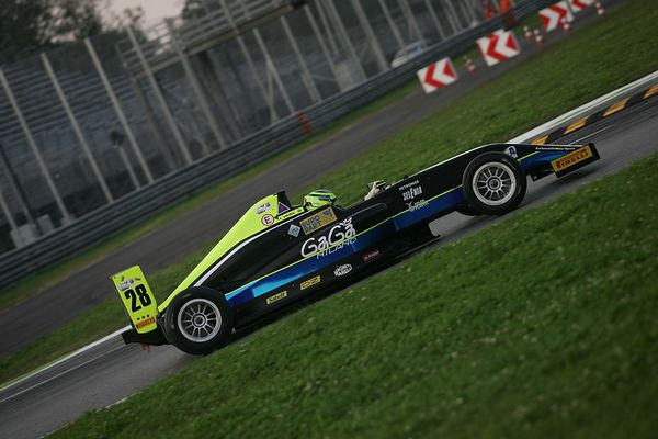 Formula 4 Joao Vieira presente all' Adria Winter Trophy