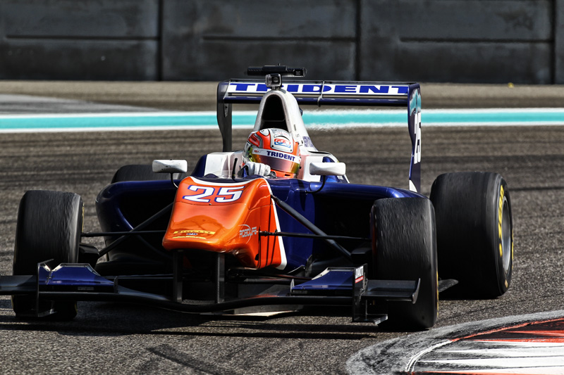Luca Ghiotto in Gp3 con Trident motorsport