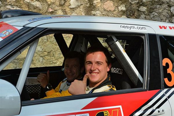 Michele Tassone nel Campionato Italiano Rally 2016