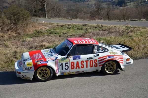 Riccardo De Bellis e DB Motorsport 3. al Historic Rally Vallate Aretine