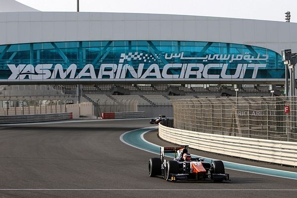 GP2 TRIDENT - Abu Dhabi Pre-Season Test Session