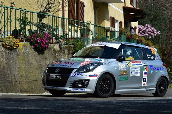 Suzuki Rally Trophy è partita aperta in Friuli