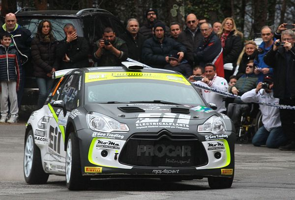 Procar motorsport con la Citroen DS3 R5 in Sicilia