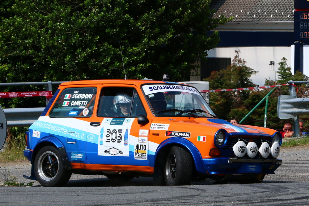Trofeo A112 Abarth: Sparco nuovo partner