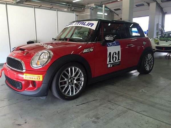MINI Racing Start Plus per Giacomo Liuzzi in CIVM
