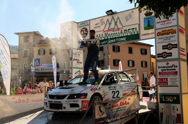 Daniele Tabarelli al Rally Isola d'Elba, prima prova dell'International Rally Cup 2015