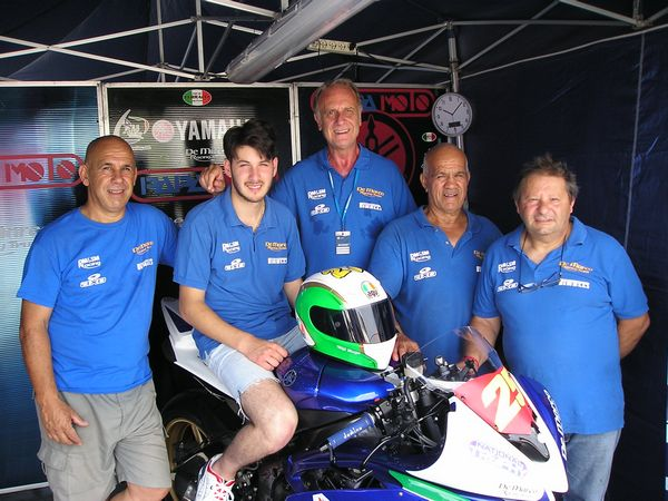 Il Team Power Racing by De Marco conferma Michele Cloroformio al CIV 2015
