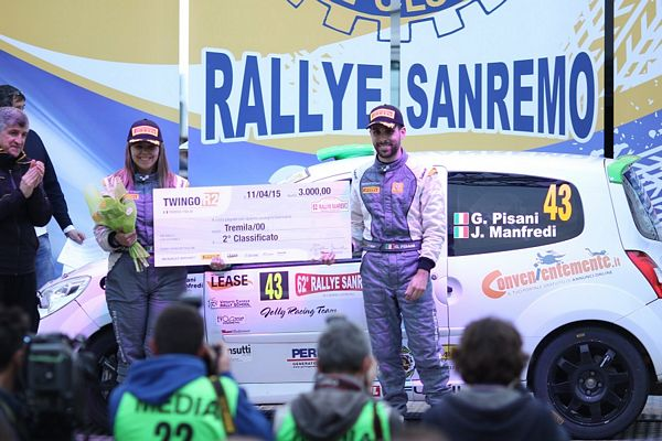 Jolly Racing Team  con Gianandrea Pisani al Rally Adriatico
