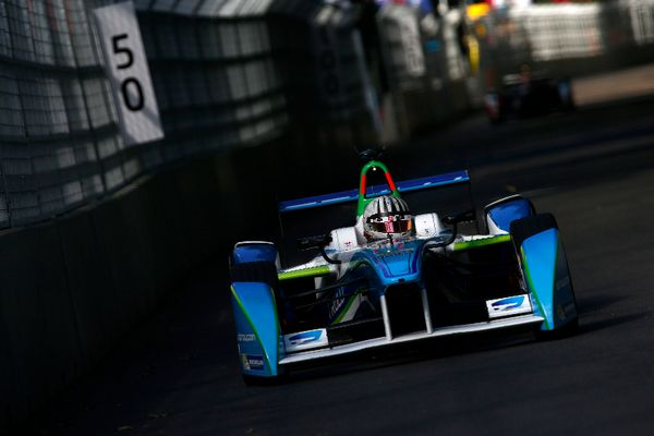 Alex Fontana al debutto in Formula E