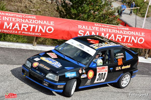 Rally San Martino di Castrozza  doppietta per PR Group