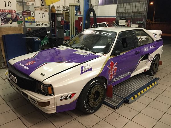 Balletti Motorsport  ed Harri Toivonen al Legend Star