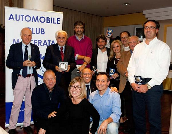 Stagione da incorniciare per l'Automobile Club Macerata