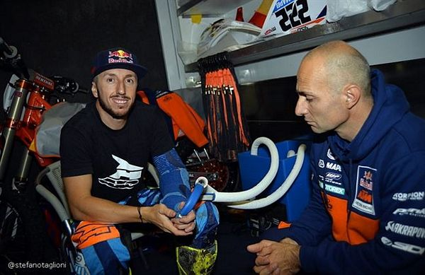 In 95 al via del Tindari Rally Special Guest Tony Cairoli