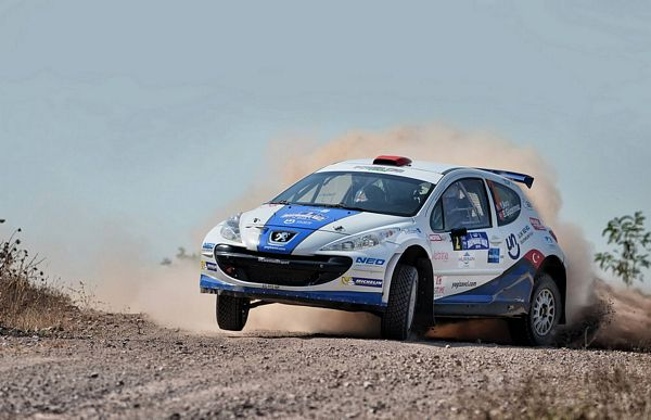 Yagiz Avci su Peugeot 207 S2000 Power car team 2. in Turchia