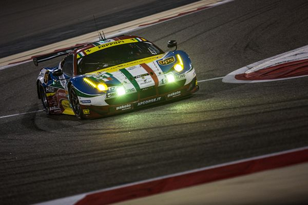 LMGTE Qualifiche: Ferrari in Pole con Bruni e Vilander in Bahrain