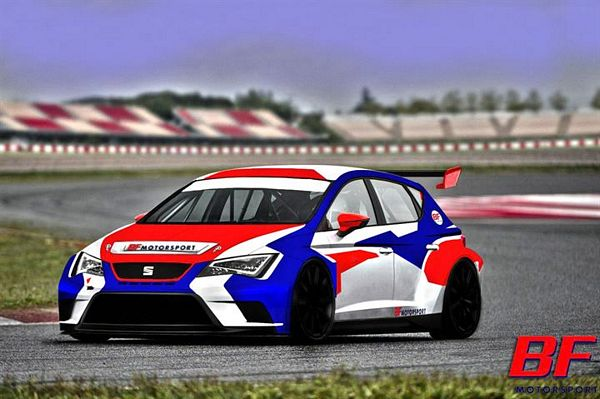 BF Motorsport con due Leon Racer TCR