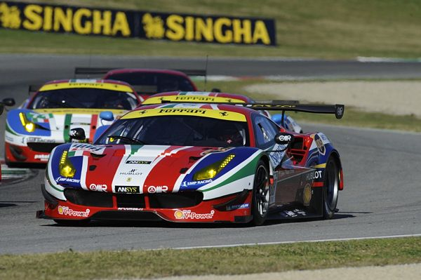European Le Mans Series 2016, AF Corse al via con due Ferrari